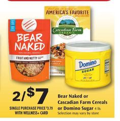 2 Bear Naked Granola Products Printable Coupons Plus Rite Aid Matchup!
