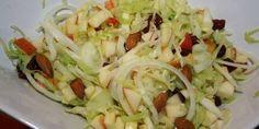 Et dejligt miks af gode ingredienser. Frisk, Coleslaw, Salad Recipes, Cabbage, Salads, Keto, Snacks, Vegetables, Food