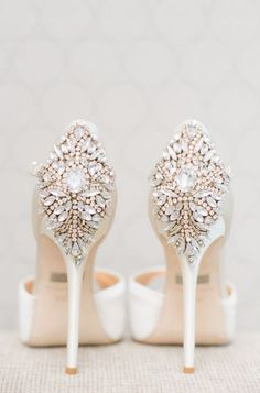 wedding shoes idea; featured photographer: Blush Wedding Photography