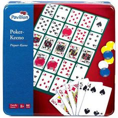 Pavilion Games Poker-Keeno Set