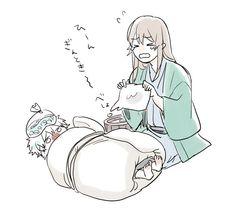 Gintama Wallpaper, Fairy Tail Art, Okikagu, Handsome Anime Guys, Character Design Animation, Anime Angel, Cute Drawings, Cute Wallpapers, Anime Girls