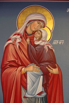 St Anna and the Theotokos