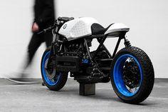 Le Café Racer emblématique de BMW est passé entre les mains de l'artiste munichois Philipp Wulk. Avocat de formation, photographe à ses heures perd...