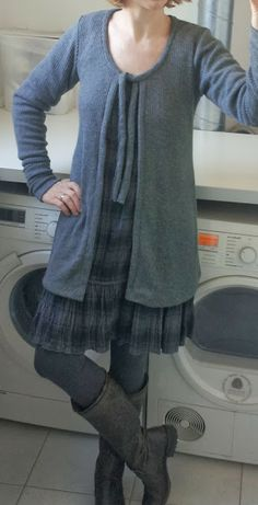 ´t Naaikamertje: Me Made Mittwcoch - herbstlich kuschelige Strickjacke