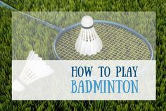 Simple to understand instructions on how to play Badminton. Before you get started swinging around your badminton at the birdie, learn the rules of badminton, technique and skills to give you the best advantage. History Of Badminton, Badminton Rules, Best Badminton Racket, Tennis Rules, Badminton Court, Tennis Tips, Tennis Bag, Play Tennis, Tennis Clothes