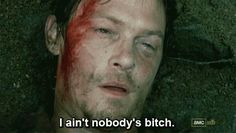 When he proved he ain't nobody's bitch.   26 Times Daryl Dixon Turned You On To The Point Of No Return