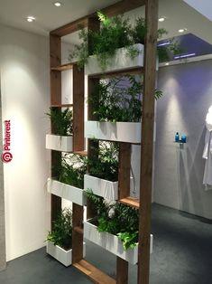 Vertical gardens 577797827179640758 - 56 DIY Vertical Garden Design Ideas For Your Home Decor, House Design, Vertical Garden Diy, Ceiling Design, Home Decor, Living Room Partition Design, Plant Decor, House Plants Decor, Decorative Room Dividers