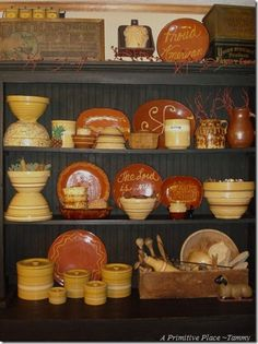 Redware & Yellow Ware