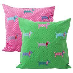 Large Dachshund Cushion Covers 60cm from www.indigobluetrading.com