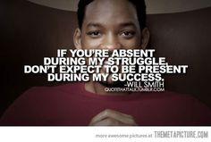 Will Smith's words of wisdom