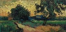 Landscape at Twilight, Auvers - 1890; Location: Van Gogh Museum, Amsterdam