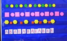 Math Problem-Solving Week More Patterns - Kindergarten Kindergarten Preschool Math, Kindergarten Teachers, Math Classroom, Fun Math, Teaching Math, Math Activities, Teaching Ideas, Teaching Patterns, Math Patterns