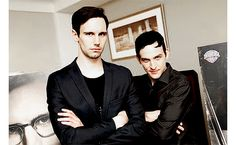 They're so darn sassy >:D I love it. :3 ( Cory Michael Smith, Robin Lord Taylor)
