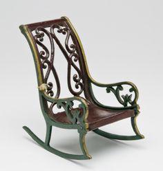 Rocking Chair Artist/maker unknown, American Mid- 19th century
