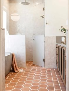 Native Trails Avalon concrete bathtub in earthy bathroom designed by Emily Seeds Interiors House Design, House Bathroom, Bathroom Interior Design, Interior, Bath Design, House Styles, Home Decor, House Interior, Bathrooms Remodel