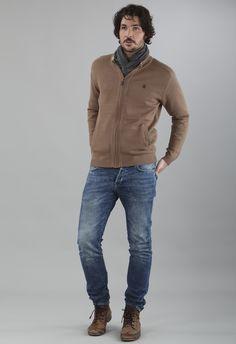 Chaqueta tricot algodón Massana