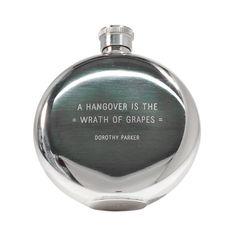 Dorothy Parker 5 oz. Flask