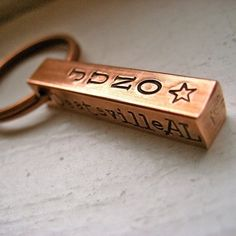 Custom personalized dog id tag Copper Pet ID by makeyourdogsmile
