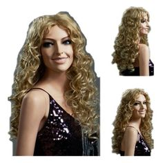 SureWells Nice wigs Hot Sale European and American Style Golden Curly Wigs For Women and Ladies Long Wigs Hair Wigs Lace Wig by SureWells. $23.49. * Easy to care for and Wash. Wash with normal shampoo in warm but not hot water. Shake off excessive water, wipe with a tower, and dry in air.. *It's fit for your Parties,Cosplay & Daily Use.. *Hair Looks Shiny Natural and Touch Soft.. *100% Top Quality & Brand NEW. 100% Japanese Kanekalon (high quality one) made fiber wigs. *T...