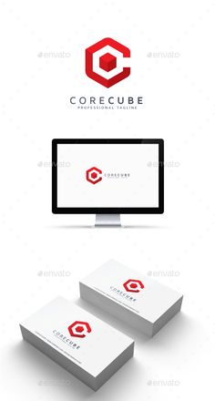 Core Cube Logo - Abstract Logo Templates