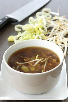 Photo-copy: Een megalekker en vooral snel soepje van prei en soja
