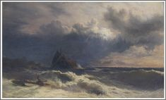 Alfred Walter Williams (1824-1905), The Rescue.