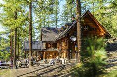Zernez - Val Cluozza - Chafuol: Schweizerischer Nationalpark Hüttentour Das Hotel, Hotels, Cabin, House Styles, Travel, Forest House, Swiss Guard, National Forest, Road Trip Destinations