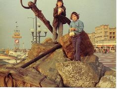 Me and my cousin in Scheveningen 1969
