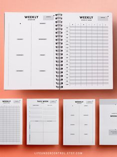 Business Plan Template Discover Weekly Home Binder Kit Hourly Planner, Weekly Planner Printable, Planner Template, Planner Inserts, Excel Calendar, Home Binder, Business Plan Template, Filofax, Eisenhower Matrix