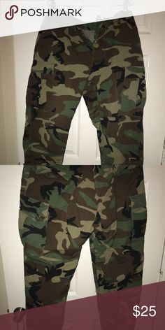 8fbb06bb37a33a Camo cargo pants I purchase from Depop, I am selling because they're too