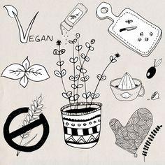 Cooking / kitchen utensils handdrawn photoshop brushes / digital stamps…