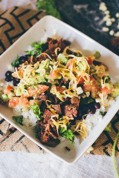 Carne Asada Burrito Bowl                                                                                                                                                     More