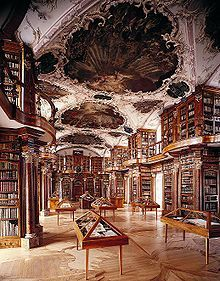 Abbey Library of Saint Gall, Switzerland. http://www.stiftsbibliothek.ch/