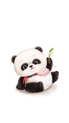 Fat panda wallpaper