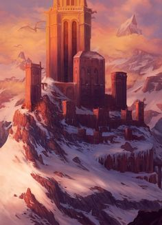 Keep of the Dragon Lords by Steves3511.deviantart.com on @DeviantArt