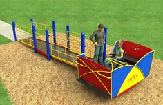 Cruiser Multi-User Rocker | Accessible Commercial Playground Equipment