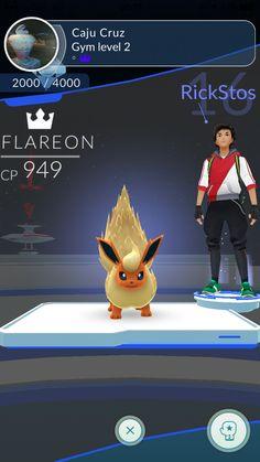 Gym retomado!  #TeamMystic #PokemonGO