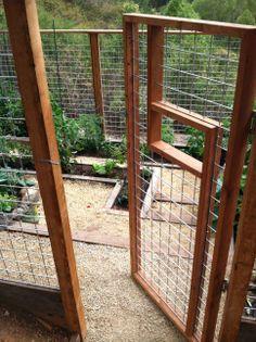 Zen Farm- Portola Valley:  3 Levels- Gravel and Railtie stairs, interlocking garden beds.  www.reviveholisticdesign.com