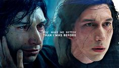 solosheart: I was one in a hundred billion . A burned out star in a galaxy Star Wars Love, Star Wars Art, You Make Me Better, Kylo Ren Adam Driver, Star Wars Kylo Ren, To Infinity And Beyond, Last Jedi, Love Me Quotes, Country Songs