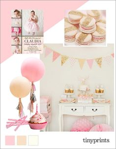 Your baby girl's first birthday party is a special and fun milestone occasion that you and your family will remember forever. From the famous first bite of birthday cake or the popular baby smash cake trend, this day is sure to be a memorable hit!