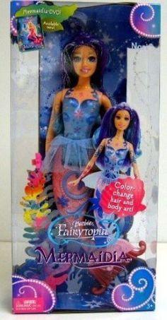 Barbie Fairytopia Mermaidia Nori Doll