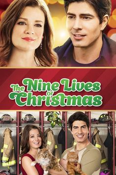 Watch Free The Nine Lives Of Christmas : Summary Movie With Christmas Approaching, A Handsome Fireman Afraid Of Commitment Adopts A Stray Cat. Movies 2014, Top Movies, Latest Movies, Movies To Watch, Christmas Movies List, Classic Christmas Movies, Christmas 2014, Holiday Movies, Hallmark Christmas