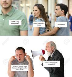 Stupid Funny Memes, Haha Funny, Funny Posts, Hilarious, Lol, Funny Stuff, Sims Memes, Dankest Memes, Sims Cc