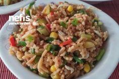 Kavrulmuş Arpa Şehriye Salatası – Nefis Yemek Tarifleri