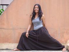 Harem Pants ...Yoga Pants ..Leasuire Pants ...Color Brown by Ablaa, $35.00