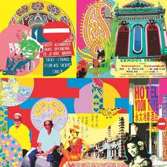 Indian collage