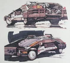 Image result for Blade Runner Syd Mead Art