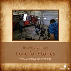 Intern Avenue with @Natalina Sents: Love for Stories