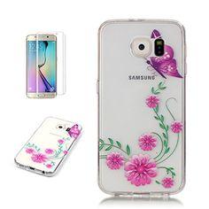 Yrisen 2in 1 Samsung Galaxy S6 Edge Hülle Silikon Schutzh…