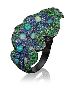 Wendy Yue Leaf Ring. Wendy Yue established her atelier in 1998 and has since become one of the most renowned Hong Kong jewlery designers for...
